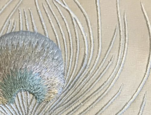Peacock Feather Detail – 5915
