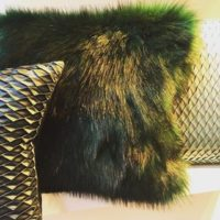 Cosy And Cool Faux Fur In Dark Emerald